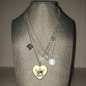 🌻 Juicy Couture Multi Layer Charms Necklace 🌻